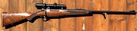 Mauser 98 .375H&H Scoped Bolt Action Rifle