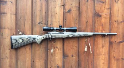 Ruger 77/17 17Mach2 Scoped Rifle