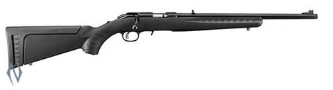 Ruger American Rimfire .22LR Synthetic/Blued Threaded