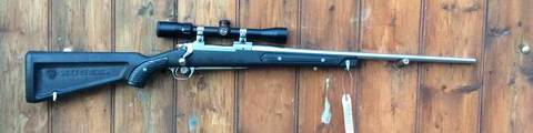 Ruger M77 MKII .243Win Synthetic / Stainless Rifle