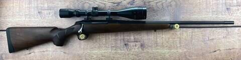 Tikka T3 Hunter Blue Fluted .204Ruger Scoped Rifle