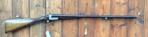 Westley Richards Game 12Gauge SxS Shotgun
