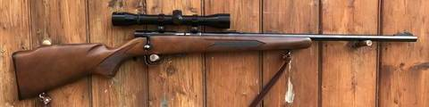 Winchester Model 320 .22LR Scoped Rifle