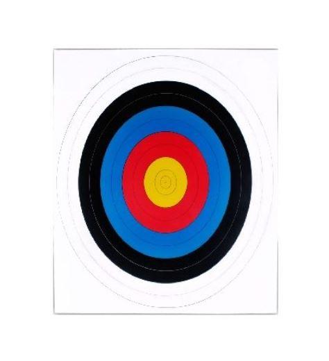 80cm Target Face
