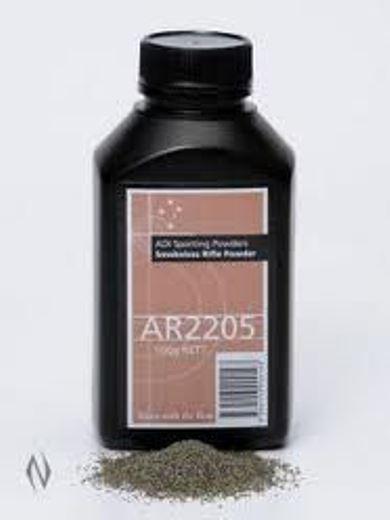 ADI AR2205 RiflePistol Powder 500g Bottle
