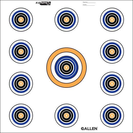 Allen Ez Aim 11 Spot Targets 12 Sheets