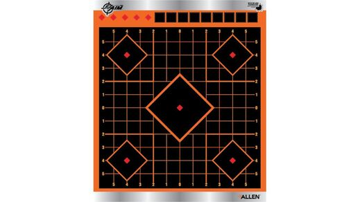 Allen Ez Aim 9+quot Reflective Sight In Target Pack Of 4