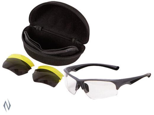 Allen ION Multi Lens Shooting Glasses Set   3 Lens