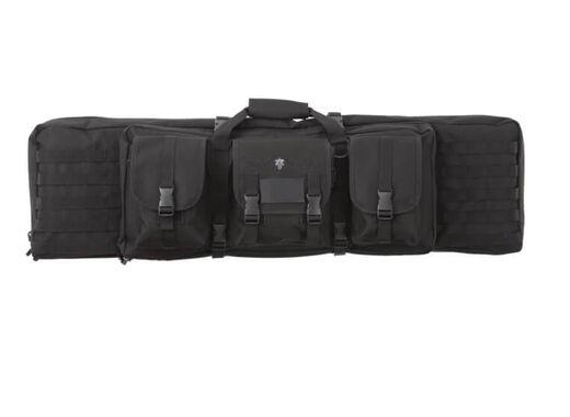 Allen Patrol 42+quot Tactical Double Rifle Case   Black