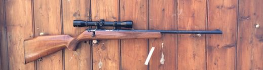 Anschutz 1450 22LR Scoped Bolt Action Rifle