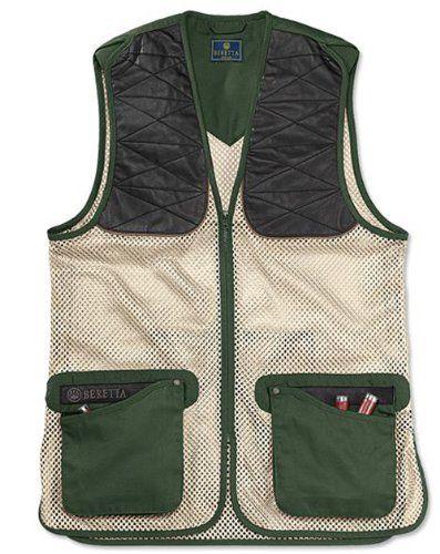 Beretta Ambidextrous Green Black Forest Shooting Vest