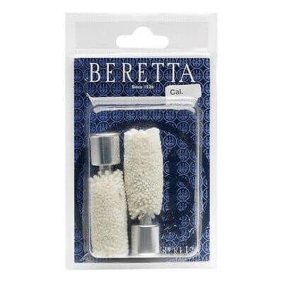 Beretta Snap Caps Aluminium 12Ga + Bore Mops Pair