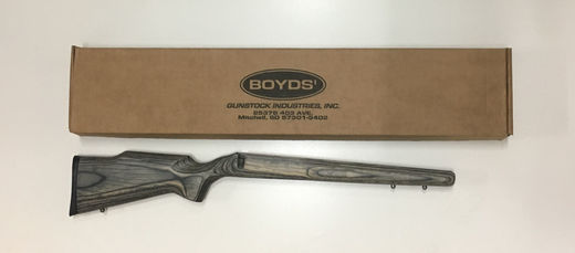 Boyd CZ 452 22Mag  17HMR Pepper Hunter Stock
