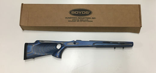Boyd Remington BDL SA Varmint Thumbhole Sky Blue Stock