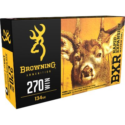 Browning BXR 270Win 134Grain REMT Pkt 20