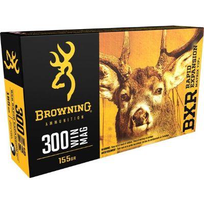 Browning BXR 300WinMag 155Grain REMT Pkt 20