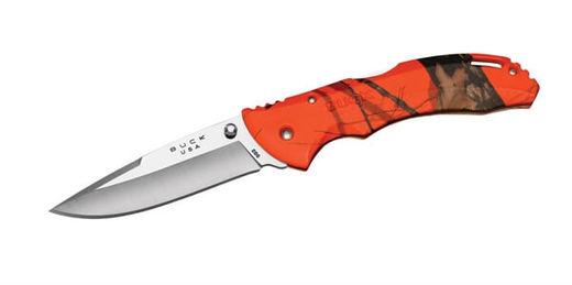 Buck 286CMS9 Bantam 334andquot Orange Head Hunter Knife