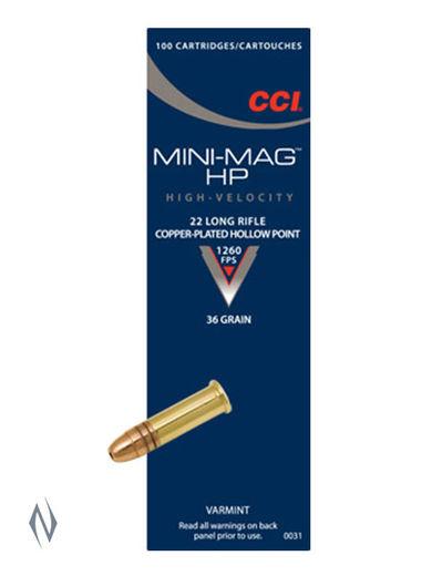 CCI 22LR Mini Mag 36Grain Hollow Points Brick 500
