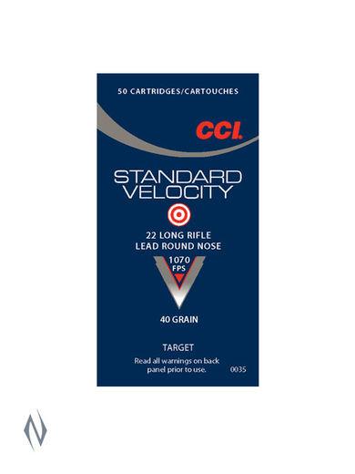 CCI 22LR Std Velocity 40Grain Lead RN 50Pkt
