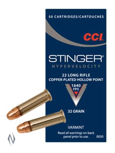 CCI 22LR Stinger 32GN Hollow Points Brick 500