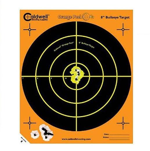 Caldwell Orange Peel 8andquotBullseye Target 10 Pack
