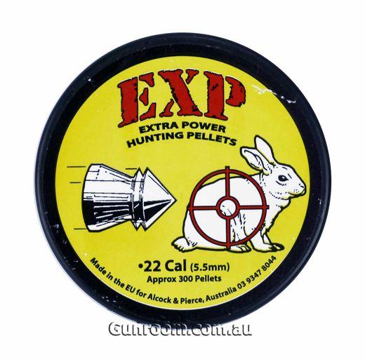 EXP 22Cal Air Rifle Pellets Qty 300
