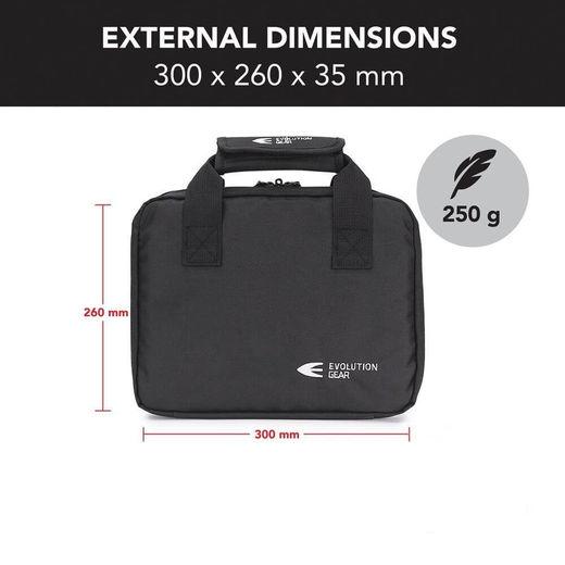 Evolution Gear Handgun Bag Soft Case with 5 Magazine Slots