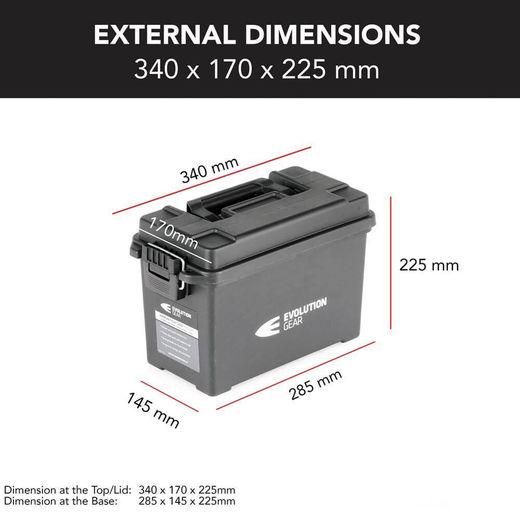 Evolution Gear Medium Ammunition Case