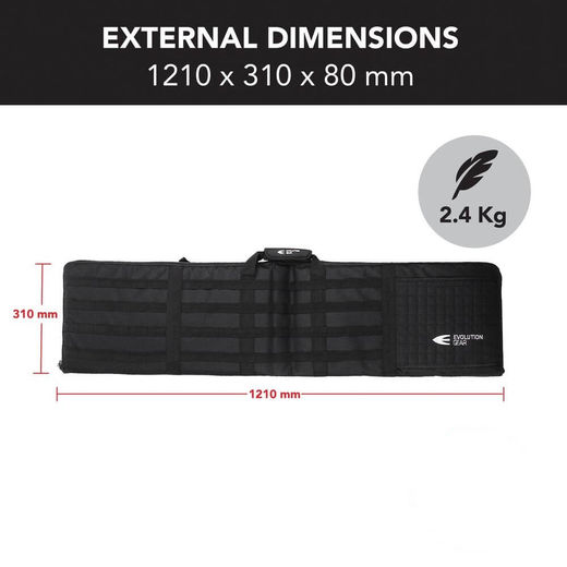 Evolution Gear Shooting Range Mat + Rifle Bag 2 In 1
