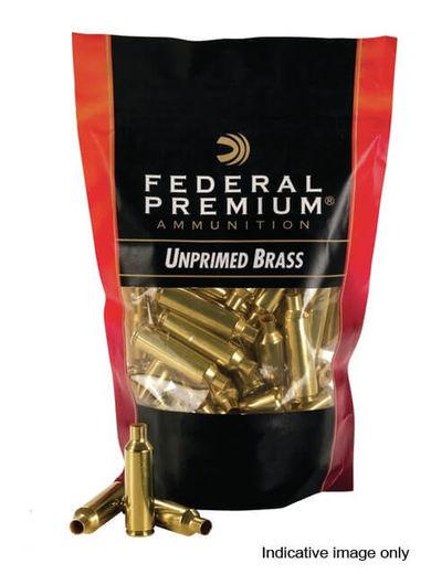 Federal 300WinMag Unprimed Brass Qty 50