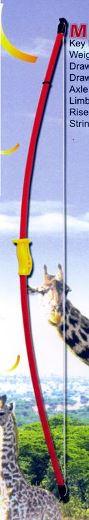 Fibreglass Longbow 44 Bow Set