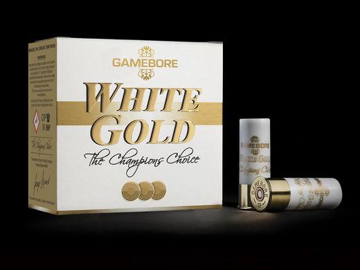 Gamebore White Gold 28Gram 8 Qty 250 Slab