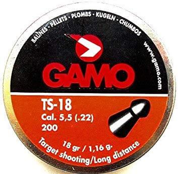 Gamo TS18 22Cal Air Rifle Pellets Qty 200