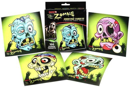Gamo Zombie Paper Targets Qty 100