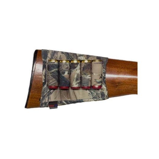 Grovtec Buttstock TrueTimber Camo Shotgun Shell Holder 5 Loops