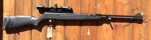 Hatsan Torpedo 155 22Air Scoped Air Rifle