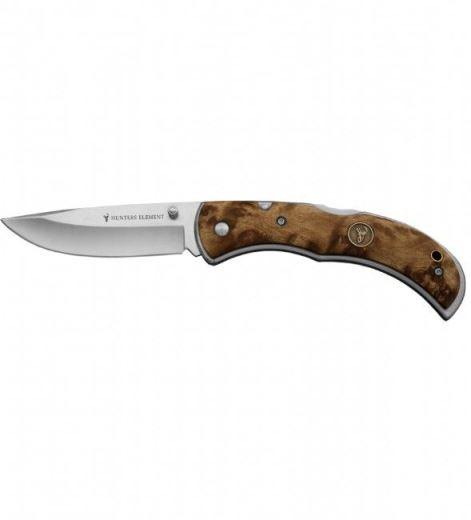 Hunters Element Classic Folding Drop Point Knife
