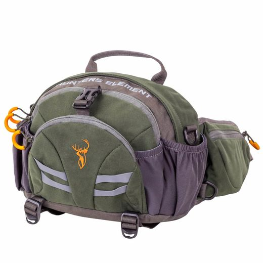 Hunters Element Divide Belt Bag Forest Green