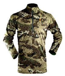Hunters Element Prime Winter Long Sleeve Zip Desolve Veil