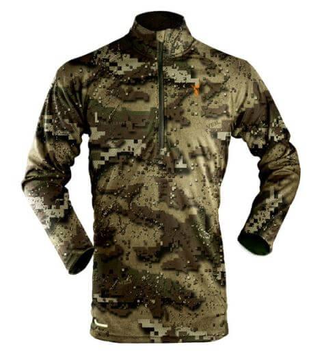 Hunters Element Summer Long Sleeve Zip Veil Top
