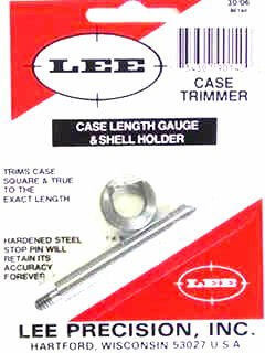 LEE 3006 Springfield Case Length Gauge and Shell Holder