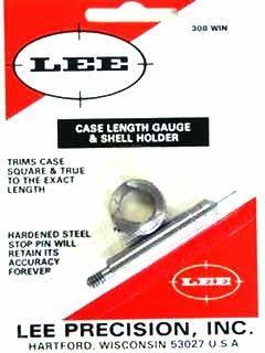 LEE 308Win Casr Length Gauge and Shell Holder