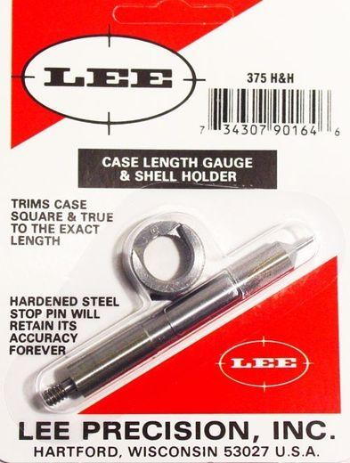 LEE 375 HandH Case Length Gauge and Shell Holder