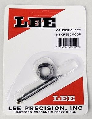 LEE 65Creedmoor Case Length Gauge and Shell Holder