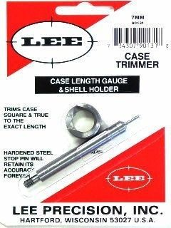 LEE 7MM REMMAG Case Gauge Length and Shell Holder