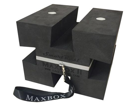 MAXBOX II Foam + Magnetic Bench Rest
