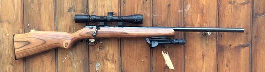 Marlin XT 17VRL 17HMR Scoped Bolt Action Rifle