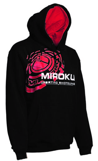 Miroku Clay Black Red Hoodie