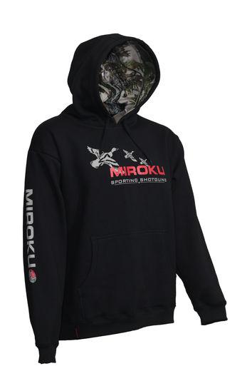 Miroku Duck Black Hoodie