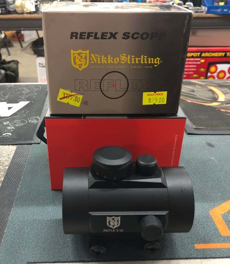 Nikko Stirling 50mm Red Dot With 58 Mounts
